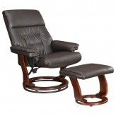 Coaster Dia Grey Glider Recliner with Ottoman Available Online in Dallas Fort Worth Texas