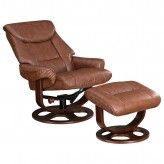 Coaster Dia Brown Glider Recliner with Ottoman Available Online in Dallas Fort Worth Texas