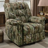 Brent Camouflage Lift Recliner Available Online in Dallas Fort Worth Texas