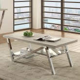 Coaster Quorra Gray Coffee Table Available Online in Dallas Fort Worth Texas