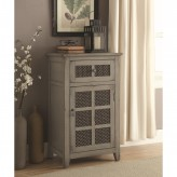 Coaster Hampton Antique Grey Accent Cabinet Available Online in Dallas Fort Worth Texas