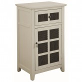 Coaster Hampton Antique White Accent Cabinet Available Online in Dallas Fort Worth Texas
