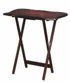 Coaster Carrington Merlot Tray Table Available Online in Dallas Fort Worth Texas