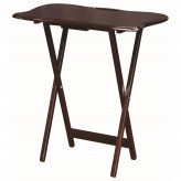 Coaster Carrington Cappuccino Tray Table Available Online in Dallas Fort Worth Texas