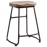 Rec Room Driftwood Counter Height Stool Available Online in Dallas Fort Worth Texas
