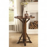 Coaster Riverbank Brown Bar Table Available Online in Dallas Fort Worth Texas