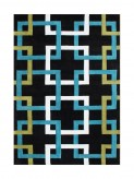 Znz Black 8x10 Rug Hr-rec-5-8_lc22037-80 Available Online in Dallas Fort Worth Texas