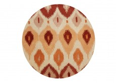 Znz Apricot Cream 6 Ft Rd Rug Hr-rec-5-8_co633 R Available Online in Dallas Fort Worth Texas
