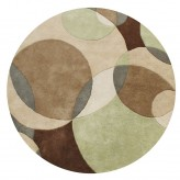 Znz Brown 6 Ft Rd Rug Hr-rec-5-8_ac20047 R Available Online in Dallas Fort Worth Texas