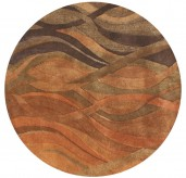 Znz Caramel 6 Ft Rd Rug Hr-rec-5-8_ac20050 R-ar Available Online in Dallas Fort Worth Texas