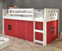 Donco Donco White Twin Loft Bed... Available Online in Dallas Fort Worth Texas