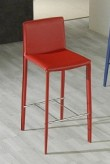VIG Modrest Modern Red Barstool Available Online in Dallas Fort Worth Texas