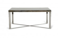 VIG Santiago Rectangular Wood Mosaic Dining Table Available Online in Dallas Fort Worth Texas