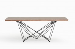 Naomi Walnut Dining Table Available Online in Dallas Fort Worth Texas