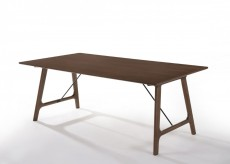 VIG Oritz Walnut Dining Table Available Online in Dallas Fort Worth Texas