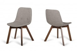 Laken Sesame & Walnut Dining Chair Available Online in Dallas Fort Worth Texas