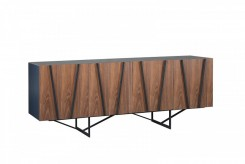 Strand Walnut & Grey Buffet Available Online in Dallas Fort Worth Texas