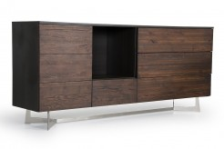 Wharton Dark Aged Oak Buffet Available Online in Dallas Fort Worth Texas