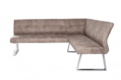 Zane Brown Fabric L-shaped Dining Bench Available Online in Dallas Fort Worth Texas