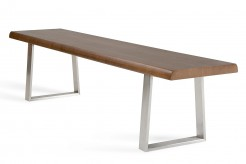 Byron Walnut Dining Bench Available Online in Dallas Fort Worth Texas