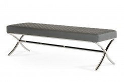 Adderley Grey Dining Bench Available Online in Dallas Fort Worth Texas