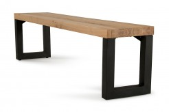 VIG Reese Aged Oak Dining Bench Available Online in Dallas Fort Worth Texas