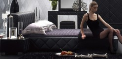 Serenade Black King Bed Available Online in Dallas Fort Worth Texas