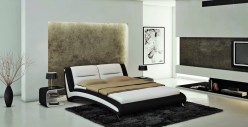 Modrest J211B Eco-leather Bed Available Online in Dallas Fort Worth Texas