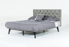 VIG Gibson Grey Fabric Bed Available Online in Dallas Fort Worth Texas