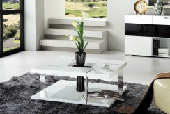 VIG Glacier White Coffee Table Available Online in Dallas Fort Worth Texas