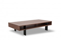 VIG Stilt Walnut Coffee Table Available Online in Dallas Fort Worth Texas