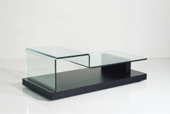 VIG Slope Glass Coffee Table Available Online in Dallas Fort Worth Texas