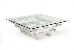 VIG Upton Glass Coffee Table Available Online in Dallas Fort Worth Texas