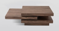 VIG Lani Walnut Coffee Table Available Online in Dallas Fort Worth Texas
