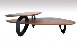 VIG Sprig Walnut Coffee Table Available Online in Dallas Fort Worth Texas