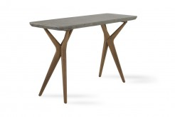 VIG Dondi Concrete Console Table Available Online in Dallas Fort Worth Texas