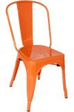 VIG Elan Orange Metal Side Chair Available Online in Dallas Fort Worth Texas