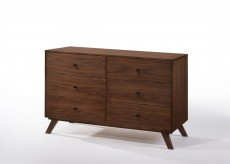 Addison Walnut Dresser Available Online in Dallas Fort Worth Texas