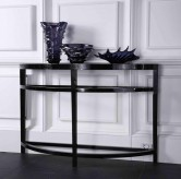 VIG Armani Half Moon Console Ta... Available Online in Dallas Fort Worth Texas