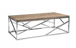 VIG Jayton Walnut Coffee Table Available Online in Dallas Fort Worth Texas