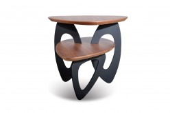 VIG Sprig Walnut End Table Available Online in Dallas Fort Worth Texas