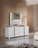 San Marino White Mirror Available Online in Dallas Fort Worth Texas