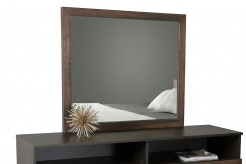 VIG Wharton Dark Aged Oak Mirror Available Online in Dallas Fort Worth Texas