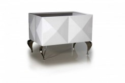 Versus Eva Lacquer Nightstand Available Online in Dallas Fort Worth Texas