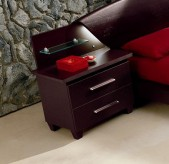 Miss Italia Wenge Nightstand Available Online in Dallas Fort Worth Texas