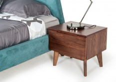 Lewis Walnut Nightstand Available Online in Dallas Fort Worth Texas