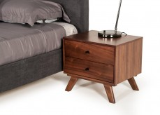 Addison Walnut Nightstand Available Online in Dallas Fort Worth Texas