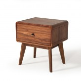 Marshall Walnut Nightstand Available Online in Dallas Fort Worth Texas