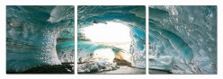 VIG Ice Cave 3-Panel Photo On C... Available Online in Dallas Fort Worth Texas