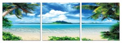 VIG Atoll 3-Panel Photo Available Online in Dallas Fort Worth Texas